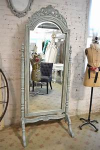 painted cottage chic shabby white mirror mr07