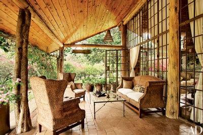 elegantly style  log home architectural digest