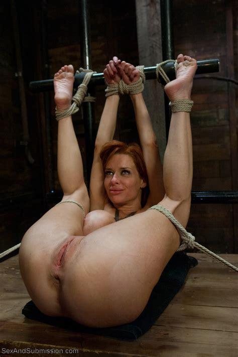 Tied Up Slutty Milf Enjoying The Moment 17208