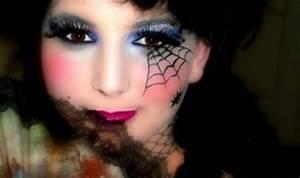 Maquillage D Halloween Pour Fille : maquillage halloween simple beaucoup d 39 effet ~ Melissatoandfro.com Idées de Décoration