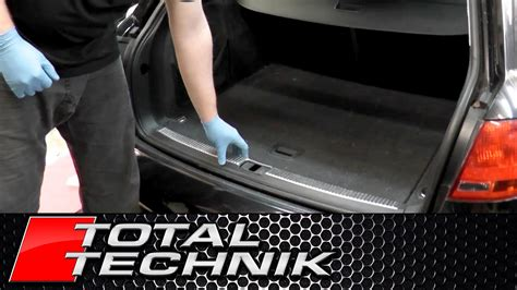 wall door stop how to remove boot lock carrier cover trim audi a4 s4