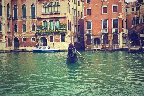 Gondola Venice Italy Water Sea Boat Free Stock Photo