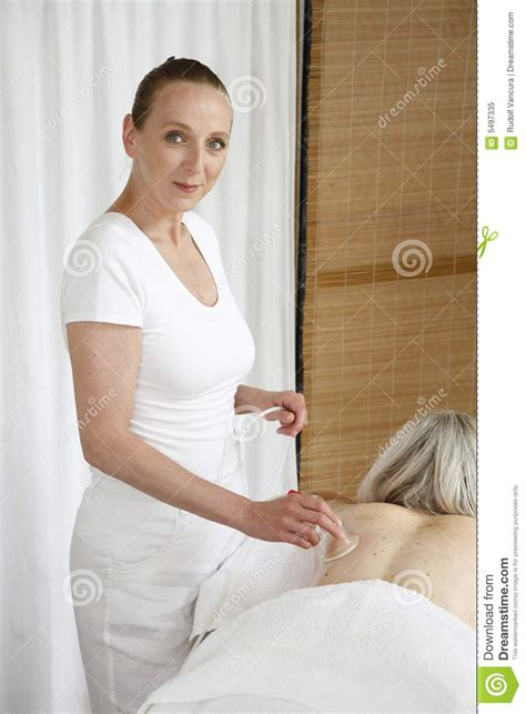 masseuse working royalty  stock photo image