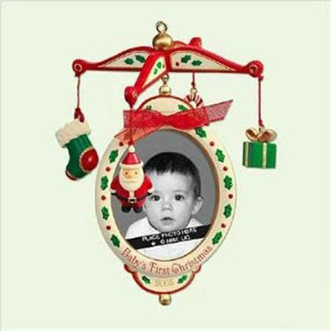 hallmark keepsake ornament 2005 baby s first christmas