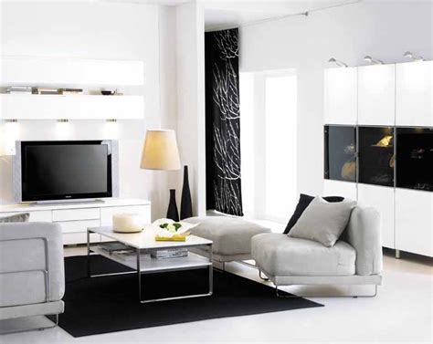 wohnideen fuers wohnzimmer simply modern schwarz und weiss