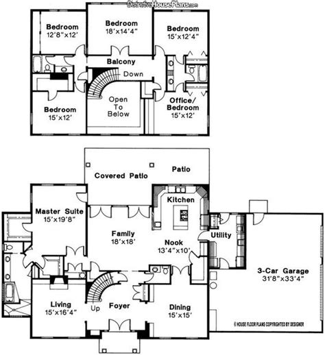 4 Bedroom 35 Bath House Plans (photos And Video