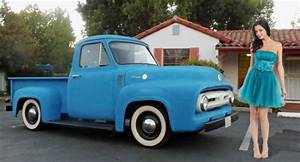 Classic 1955 Ford F100 Hot Rat Rod Patina Custom Pick Up