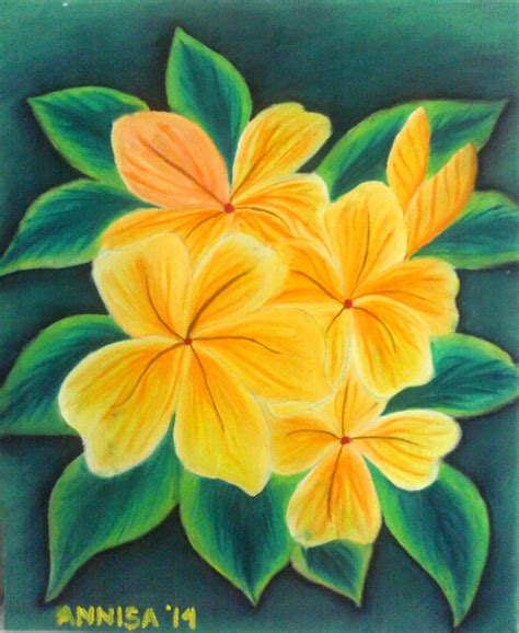 Contoh Lukisan Kanvas Sederhana
