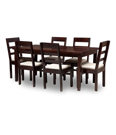 Dining Table Chairs Price by Asaam 6 Seater Dining Set Includes Dining Table Plus 6