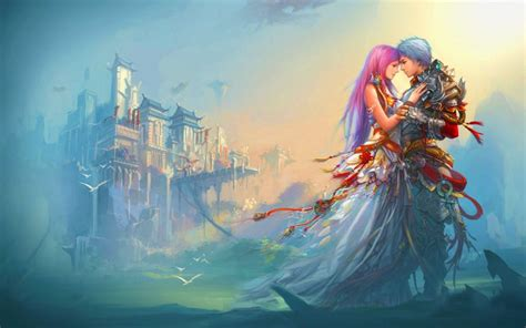 Fantasy Couple Love Wallpaper  1600x1000 696259