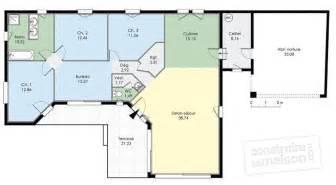 plan de maison plein pied