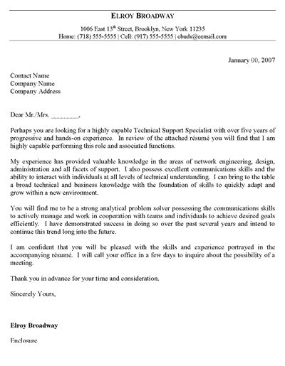 free cover letter template free it support cover letter template 17794