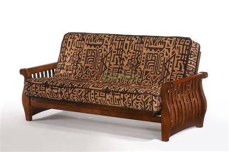wooden futon nightfall futon and day nightfall wood futon beds