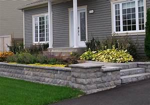 Mur De Photos : mur de pierre muret de pierre ext rieur profil jardins ~ Melissatoandfro.com Idées de Décoration