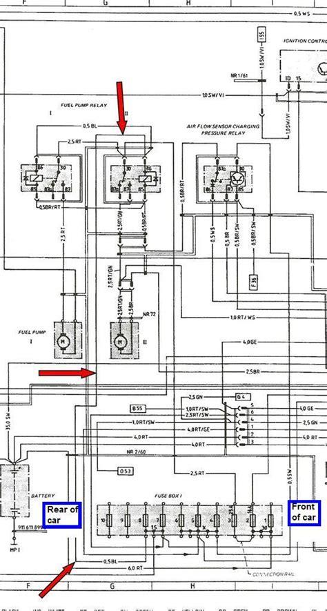 fuel pump relay wiring   page  rennlist