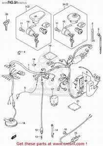 Suzuki Vs800 Gl Intruder 1998-2000  Usa  Wiring Harness
