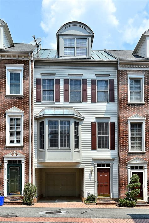 pictures townhouses with garages garage townhouses in town alexandria va 22314