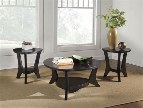 Get 5% in rewards with club o! Signature Design by Ashley Marinday Contemporary 3-Piece Occasional Table Set - Beck's Furniture ...