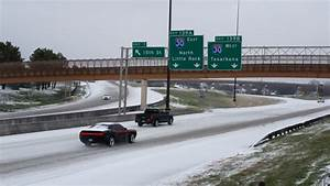 GALLERY: Wintry mix hits Little Rock