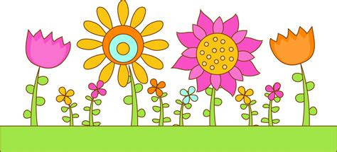 Yellow Flower Clipart Garden-pencil And In Color Yellow