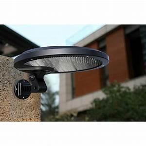 Rotatable Solar Motion Sensor Light