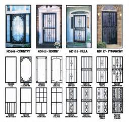 Decorative Security Bars For Residential Windows by Decorative Wrought Iron Storm Doors 2017 2018 Best