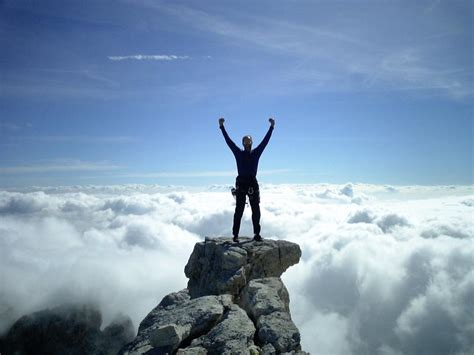 Are You At The Top Yet?! Or How To Climb A Mountain