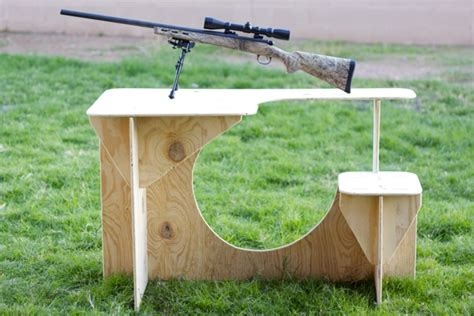 woodwork shooting bench plans plywood  plans