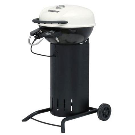 Brinkmann Electric Patio Grill Cover by Brinkmann 24 In 1750 Watt Electric Patio Grill In