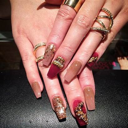 Nail Acrylic Designs Unique Bling Trends Decals