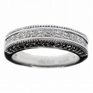 Black Diamond Wedding Bands From MDC Diamonds