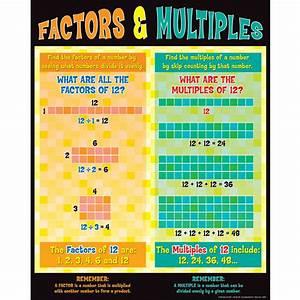 Factors And Multiples Poster | ~~Math Ideas | Pinterest ...