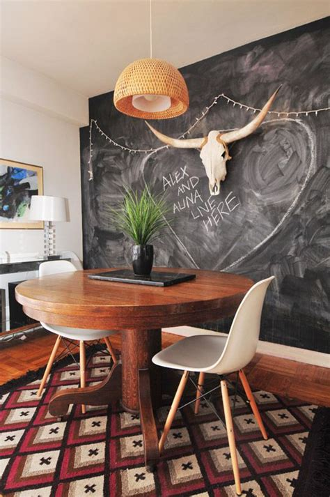 chalkboard dining room decor ideas youll love digsdigs