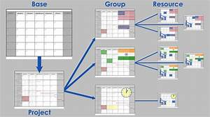 How To Execute Layered Calendar Management In Ms Project