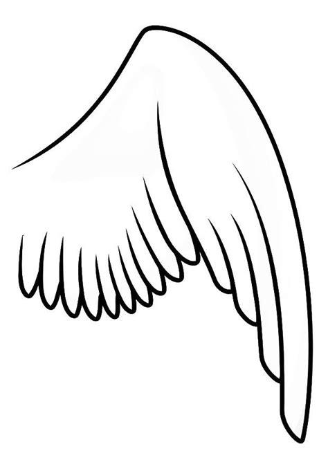 flügel basteln kostüm malvorlage rechter fl 195 188 gel ausmalbild 20697 images