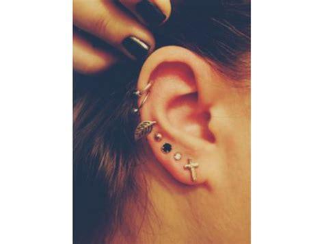 piercing oreille femme piercing 224 l oreille 15 photos pour se donner des id 233 es bibamagazine fr