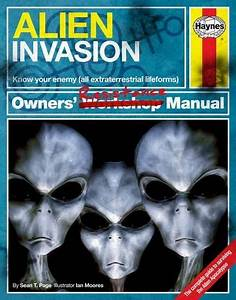 Alien Invasion Owners U2019 Resistance Manual  Know Your Enemy