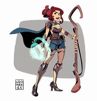 Warrior Artstation Cartoon Character Leo Random Animation