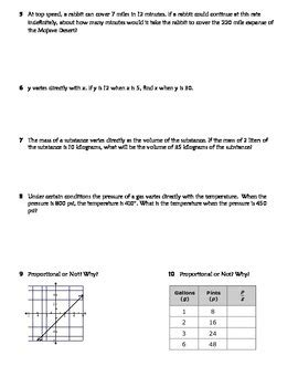 direct variation practice worksheet riddle fun