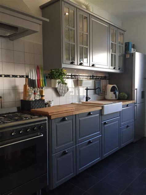 kitchen ikea bodbyn grey kitchen inspiration
