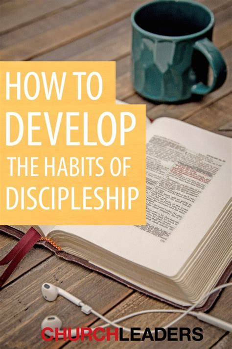 develop  habits  discipleship bible lessons