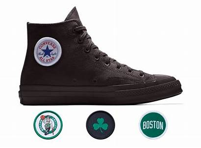 Converse Custom Chuck Nba Chucks Celtics Via