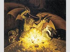 Tolkien Calendar April 1977 The Balrog Tolkien