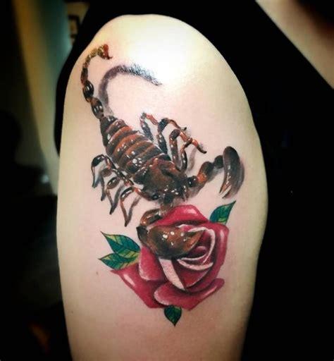 scorpion tattoos meaning  design ideas