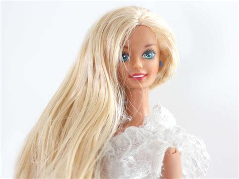 care    barbie dolls hair  steps