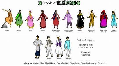Pakistan Traditional Dresses Pakistani Fanpop Diversity Different