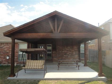extended patio semi covered small design open gable cover plans grande room tips porch