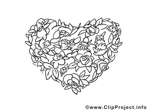 Ausmalbilder Für Erwachsene Herzen : Herz Aus Blumen Valentinstag Ausmalbilder