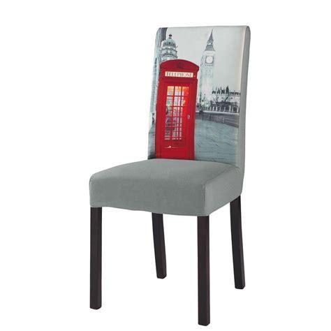 maison du monde housse de chaise housse de chaise en coton grise margaux maisons du monde