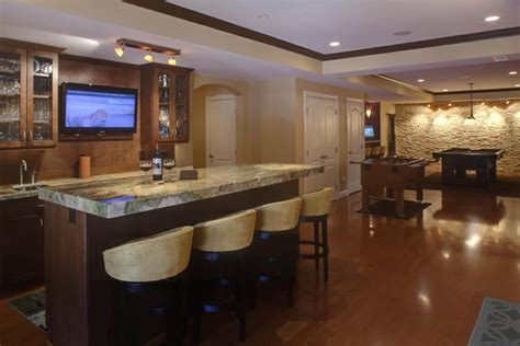 Luxury Finished Basement Designs